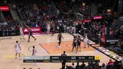 Melhores momentos: Brooklyn Nets 130 x 118 Atlanta Hawks pela NBA