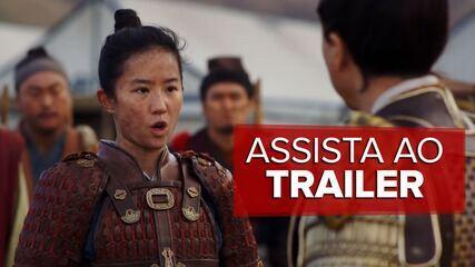 Assista ao 2º trailer de 'Mulan