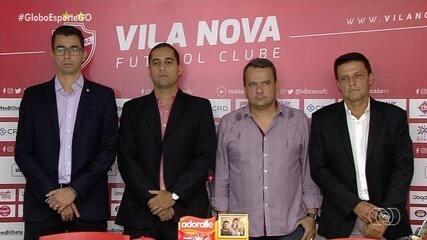 Hugo Jorge Bravo assume presidência do Vila Nova