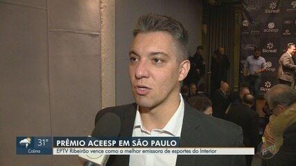 EPTV de Ribeirão Preto é eleita melhor emissora de esportes do interior paulista