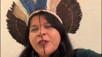 Sônia Guajajara se manifesta sobre mortes de indígenas no Maranhão