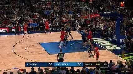 Melhores momentos: Dallas Mavericks 130 x 84 New Orleans Pelicans, pela NBA