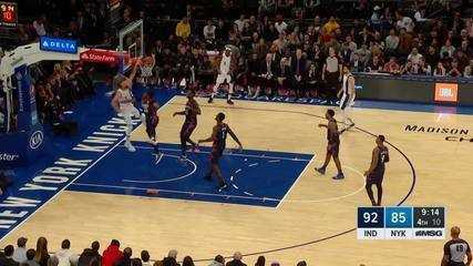 Melhores momentos: New York Knicks 103 x 104 Indiana Pacers, pela NBA