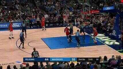 Confira o top 5 da noite de sábado da NBA