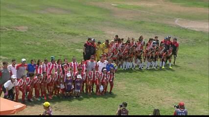 Veja como foi a final do Paraibano de Futebol Feminino, entre Auto Esporte e Mixto-PB