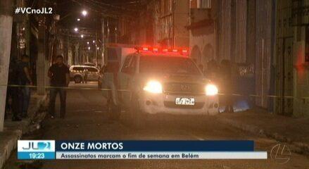 Fim de semana violento termina com 11 mortos em Belém e Ananindeua, no PA