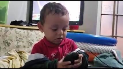 Mãe faz homenagem em vídeo a Bernardo, menino morto pelo pai no DF