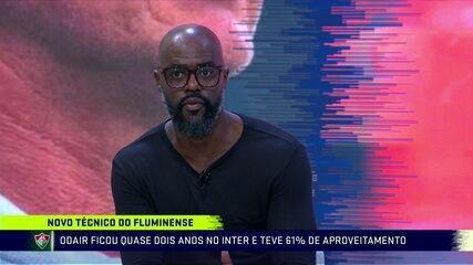 """Grafite aprova Odair no Fluminense: """"Acho que tem tudo pra dar certo"""""""