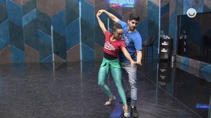 Veja como está a preparação de Dandara Mariana para a grande final do 'Dança dos Famosos'