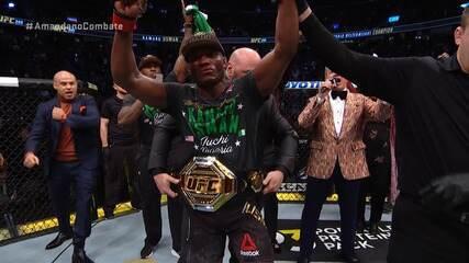 Melhores momentos de Kamaru Usman x Colby Covington no UFC 245