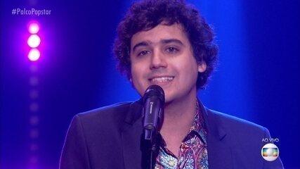 """George Sauma canta """"Adivinha"""" na segunda rodada de apresentações"""