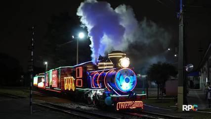 A Maria Fumaça voltou! Assista ao espetáculo teatral que acompanha o trem mais iluminado