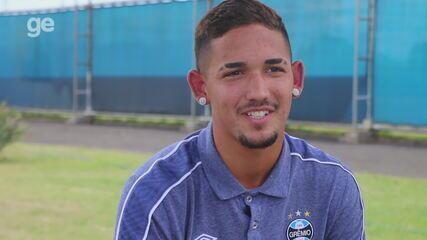 Joia do Grêmio em 2020, Jhonata Robert conta seu início no futebol e projeta temporada