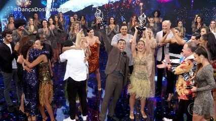 Kaysar Dadour e Mayara Araújo são os vencedores da 'Dança dos Famosos'