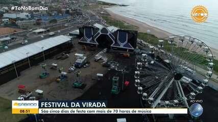 Festival Virada Salvador começa neste sábado
