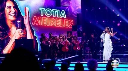 Totia Meireles canta 'Gota D'Água'