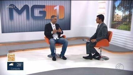 Secretário de despesas, vereador Adriano Zago fala ao vivo no MG1 sobre situação na Câmara