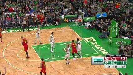 Melhores momentos: Boston Celtics 109 x 106 Atlanta Hawks, pela NBA