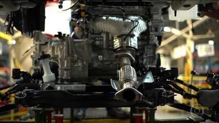Produção de veículos no Brasil cresceu pelo terceiro ano seguido