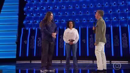 Fátima e Júlio disputam prêmio do 'The Wall'
