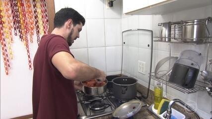 Vitor escolhe o tema 'Pop It Up' para seu jantar no 'Jogo de Panelas Espírito Santo'