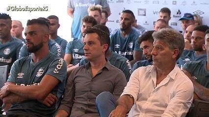 Grêmio se reapresenta com duas novidades para 2020; Maicon diz que não fará cirurgia