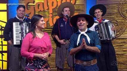 Reveja o primeiro bloco do Galpão Crioulo deste domingo (12)