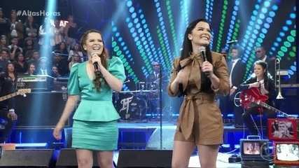 "Maiara & Maraisa cantam ""Aí eu bebo"""