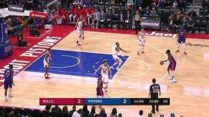 Melhores momentos: Detroit Pistons 99 x 108 Chicago Bulls, pela NBA