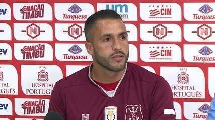 Assista, na íntegra, a apresentação oficial de Ronaldo Alves no Náutico
