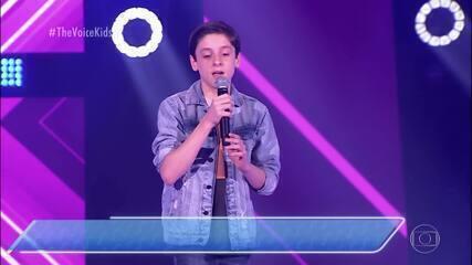 Bruno Zicman canta 'Stand By Me' nas Audições às Cegas