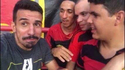 """Nilsinho """"pé frio"""" invade torcidas de Náutico e Sport no clássico; veja a resenha"""