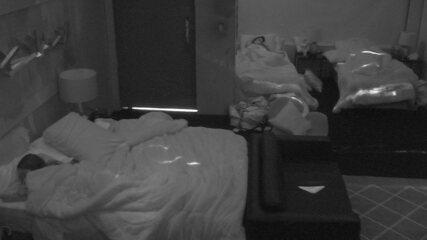 Sisters do Camarote dormem após Prova de Imunidade