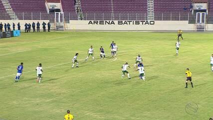 Confiança e Lagarto empatam sem gols pela terceira rodada do estadual