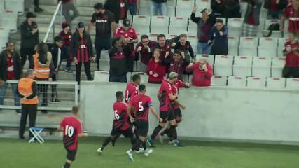 Assista ao gol de Athletico 1x0 PSTC, pela segunda rodada do Paranaense