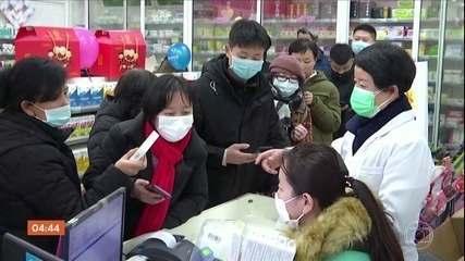 China tem 17 mortes e quase 600 pessoas infectadas pelo coronavírus