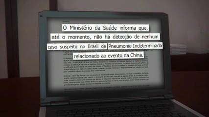 Caso suspeito de contaminação por coronavírus é registrado em Belo Horizonte