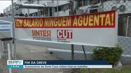 Greve de funcionários da Santa Casa em Itabuna termina nesta quinta-feira
