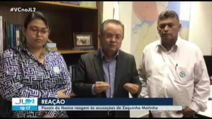 Fiscais do Ibama reagem às declarações do senador paraense Zequinha Marinho