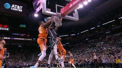 Melhores momentos de Phoenix Suns 103 x 99 San Antonio Spurs pela NBA