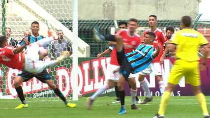 Melhores momentos de Internacional 1 (3) x (1) 1 Grêmio pela final da Copa São Paulo