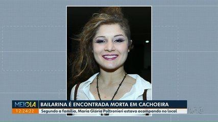 Bailarina de Maringá é assassinada em cachoeira