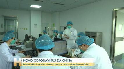 Países europeus intensificam cuidados para conter chegada do novo coronavírus