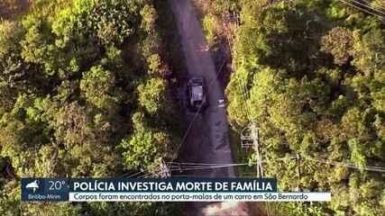 Polícia investiga morte de família encontrada morta em São Bernardo do Campo