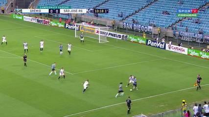 Veja os gols de Everton na vitória sobre o São José