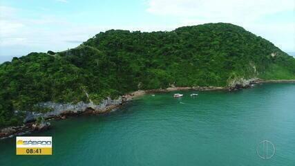 """""""Vai Encarar?"""": Gustavo Garcia conhece a Ilha Feia, em Búzios, no RJ"""