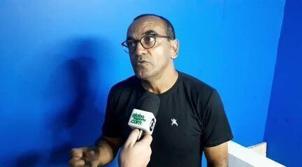 Comentarista Edson Ferreira diz que não tiraria Luidy no segundo tempo