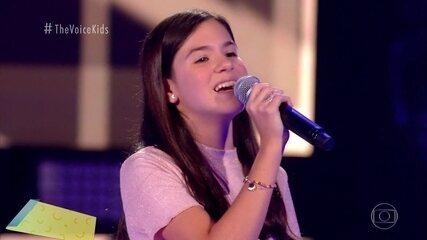"""Ana Luiza Salgueiro canta """"Never Ending Story"""" nas Audições às Cegas"""