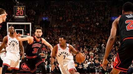 Melhores momentos de Toronto Raptors 129 x 102 Chicago Bulls pela NBA