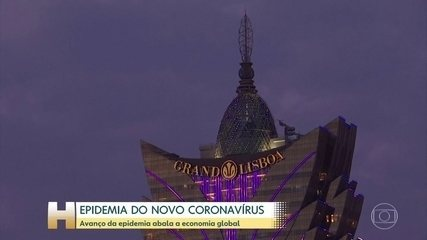 Avanço do coronavírus assusta a economia global